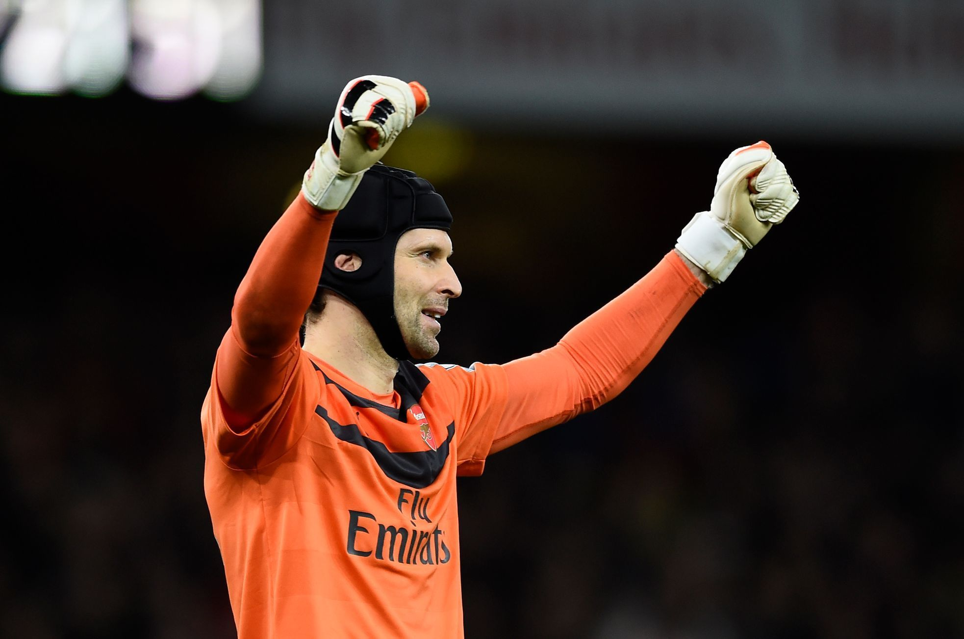 Arsenal-Manch. City: Petr Čech