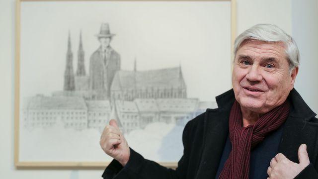 Jiří Slíva a Praha - Kafka měst.