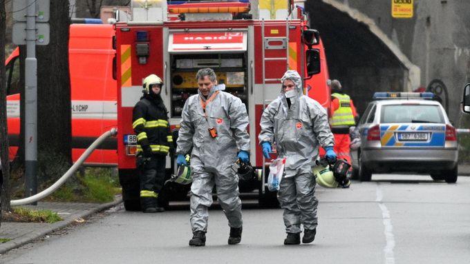 V bytě podivína v Brně policie objevila výbušniny, které by dokázaly zničit celý dům