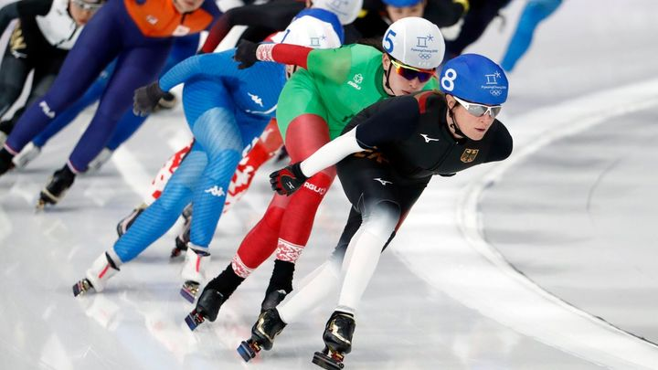 Zdráhalová skončila osmá v hromadném závodě rychlobruslařek, zlato slaví Japonka Takagiová