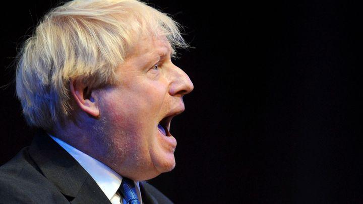 Boris Johnson varoval, že se Británie může stát kolonií Evropské unie