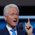 Bill Clinton na sjezdu Demokratů v Philadelphii