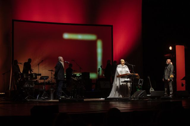 Dead can dance at yesterday's concert in Prague