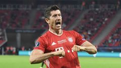 European Super Cup - Bayern Munich v Sevilla Robert Lewandowski