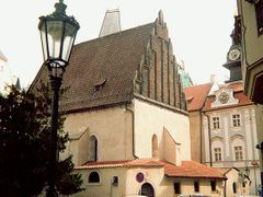 Old New Synagogue, since 1270 a fixture of Prague's Jewish Town