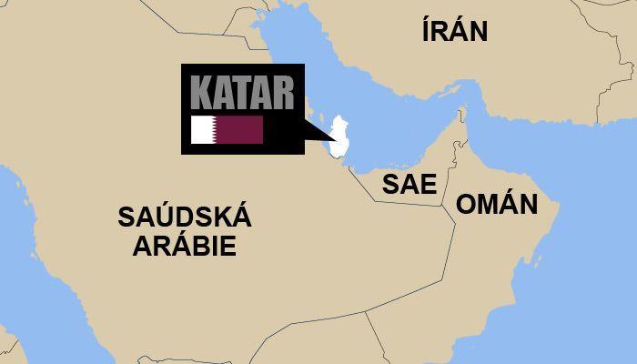 Katar Mapa Aktualne Cz
