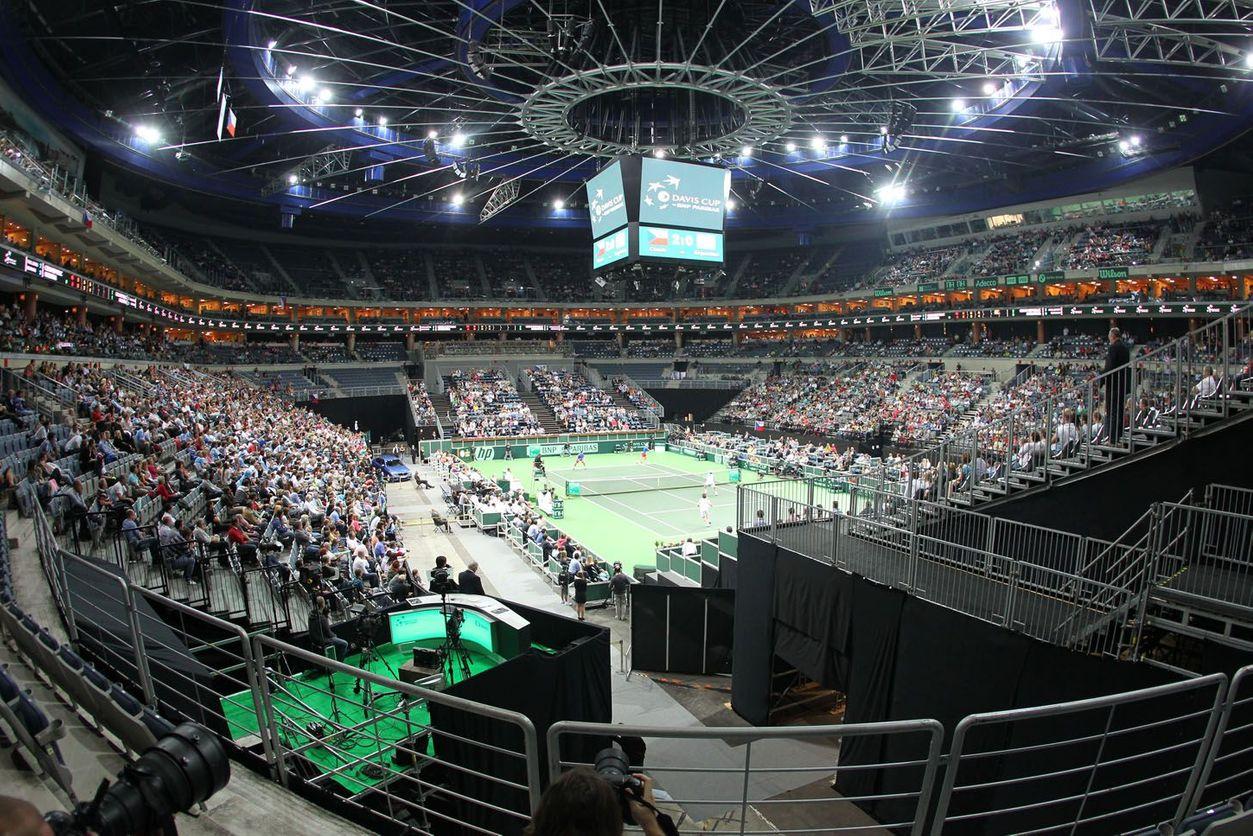 O2 aréna bude při tenisovém turnaji opět slušně zaplněná