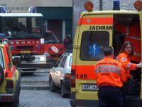 Záchranáři po srážce dvou řidičů zjistili, že jeden je pobodaný