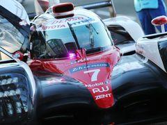 Speciál Toyota, který by mohl příští rok v Le Mans pilotovat Fernando Alonso.