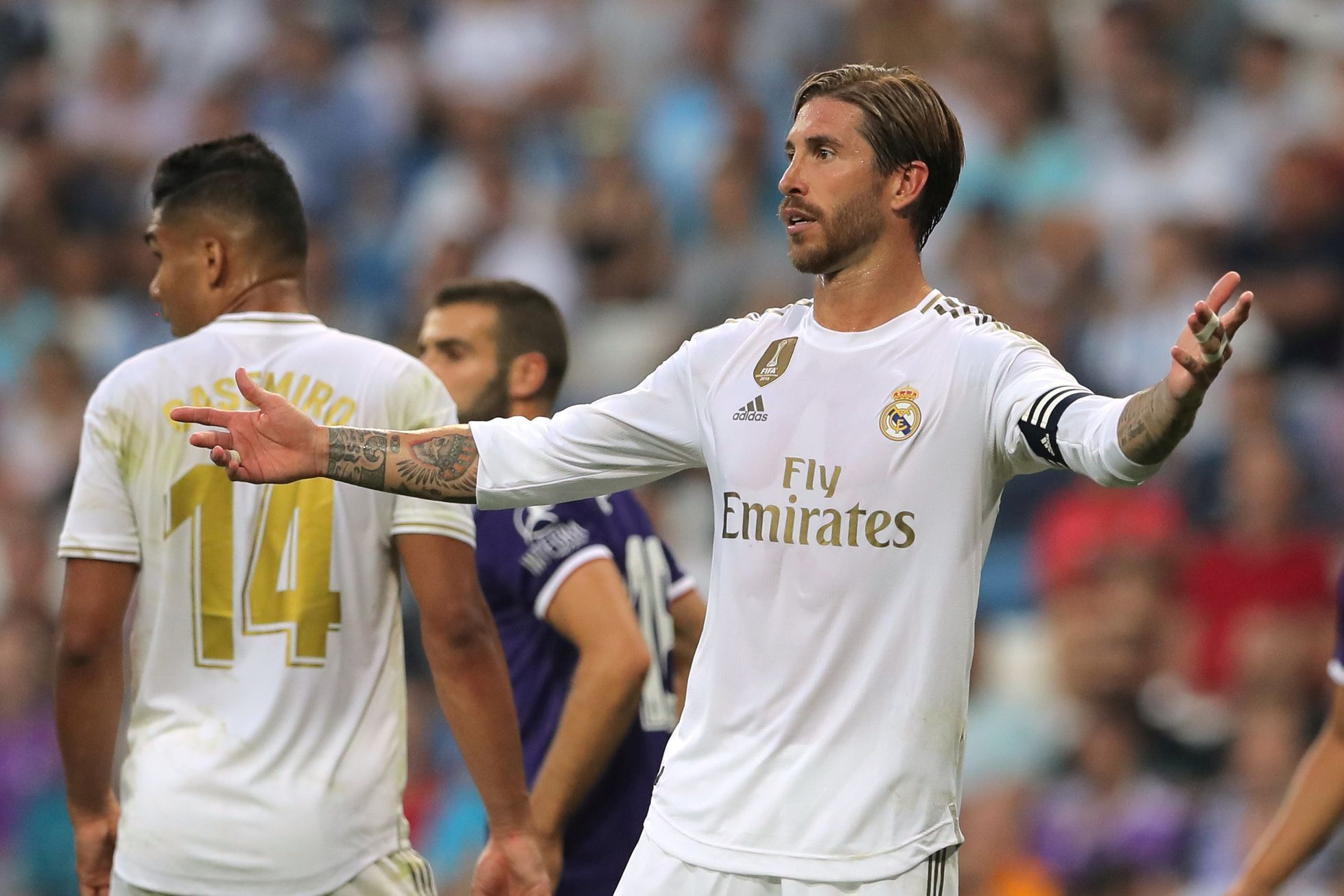Sergio Ramos (Real Madrid vs. Valladolid)