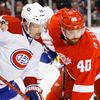 NHL: Montreal Canadiens at Detroit Red Wings (Zetterberg a Plekanec)