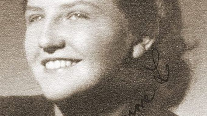 Back in the days (Ludmila Brožová-Polednová in a photograph from the 1950s)