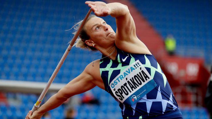 Špotáková vyhrála oštěp na Odložilově memoriálu, přehodila šedesát metrů; Zdroj foto: Reuters