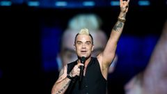 Robbie Williams na festivalu Sziget