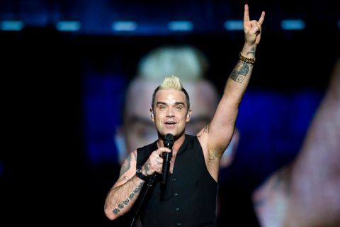 Robbie Williams na Szigetu flirtoval a zpíval hit za hitem