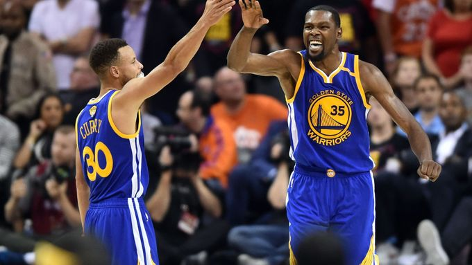 Stephen Curry a Kevin Durant