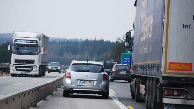 Neukáznění řidiči na D1 plní městské kasy. Za překročení 80 km/h padají tisíce pokut