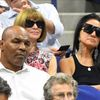 US Open 2018, vedro (Mike Tyson, Anna Wintour a Vera Wang)