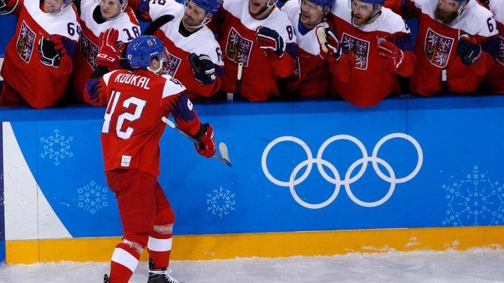 Erat se postaral o největší vtípek hokejového turnaje, Fourcade měl olympiádu na salámu