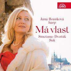 Česká klasika, ale pro harfu. Boušková natočila Smetanu, Dvořáka a Suka