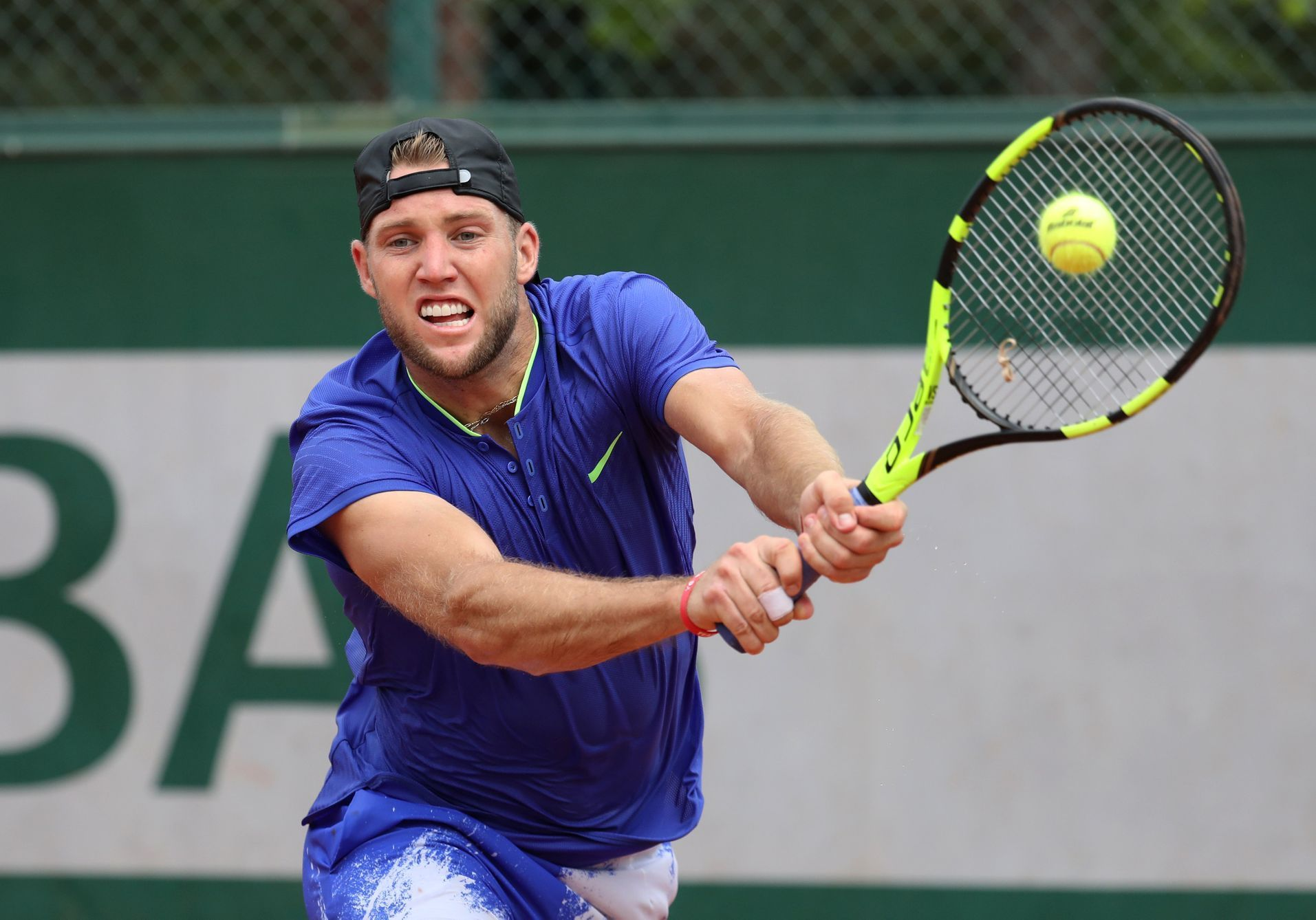 1. kolo French Open 2017: Jack Sock