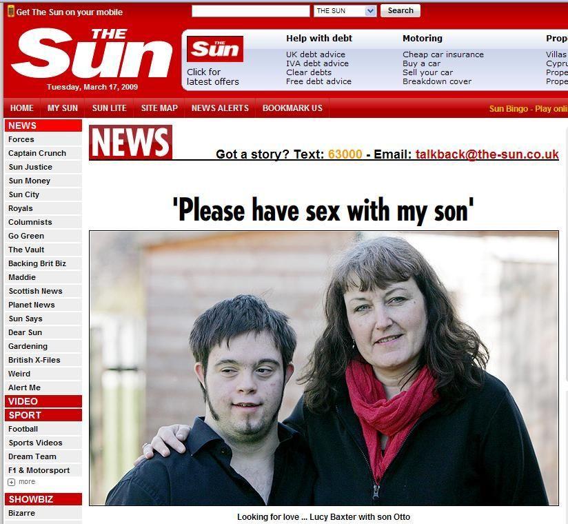 Sex v synovi matky