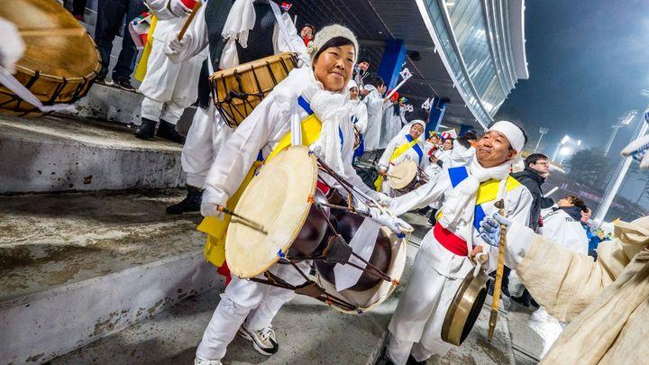 V rytmu korejských bubnů se nejlépe stíhalo lídrům Světového poháru. Dobrý den měla i Koukalová