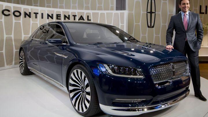 Lincoln Continental se vrací. V New Yorku je koncept vozu