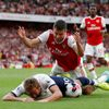 Arsenal vs. Tottenham, Premier League (Kane, Sokratis)