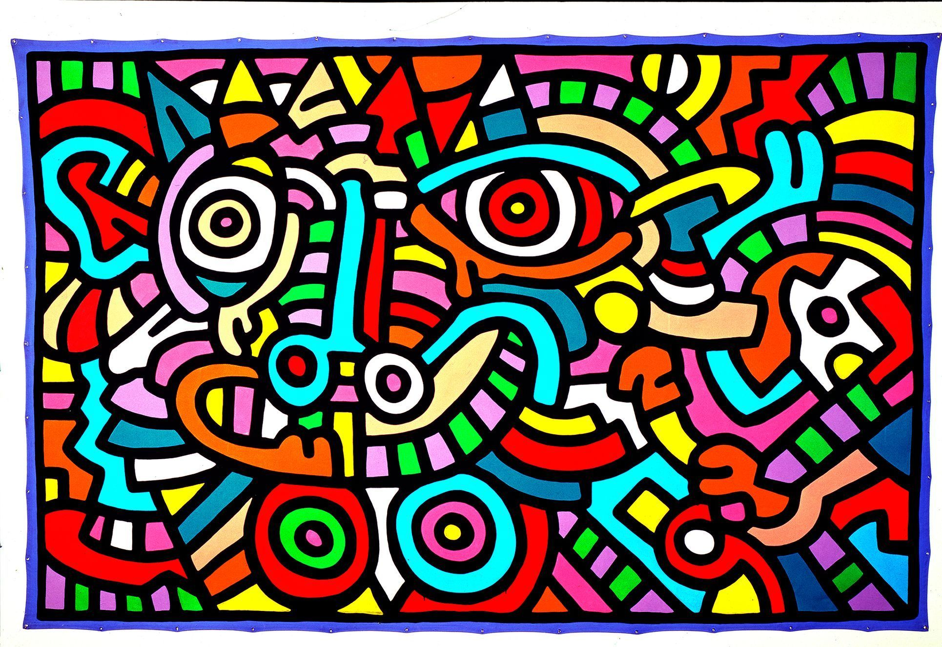 Keith Haring: Untitled, 1986