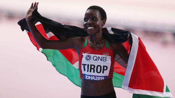 Atletická hvězda Tiropová je mrtvá. Po těle údajně měla bodné rány; Zdroj foto: Reuters