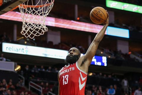 Harden dovedl v NBA basketbalisty Houstonu k výhře 45 body