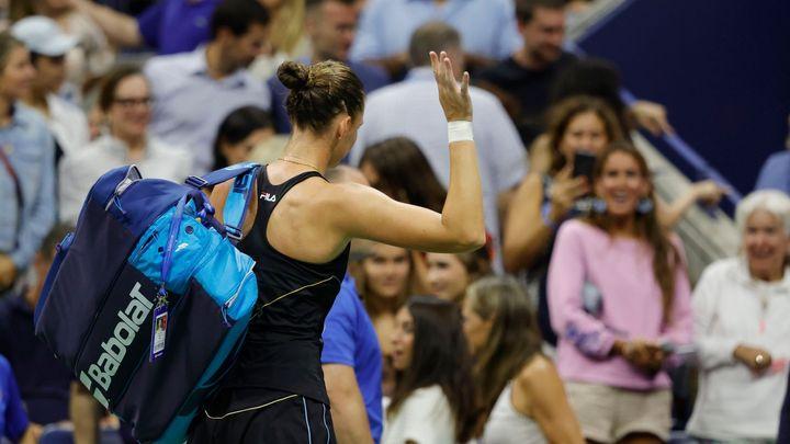 Sakkariová vyřadila z US Open i třetí Češku, Plíškové se nedařilo na returnu; Zdroj foto: Reuters