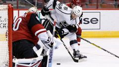 NHL, Arizona -LA Kings: Marek Langhamer -  Joel Lowry (68)