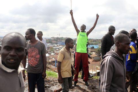 Nairobi randí s vážným pple