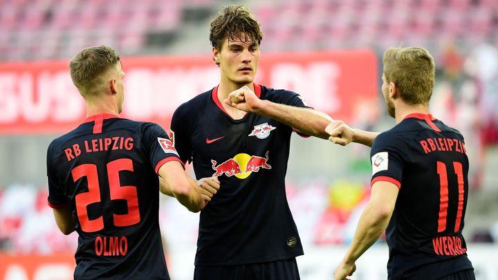 Schick vstřelil další gól, Lipsko je po výhře v Kolíně třetí
