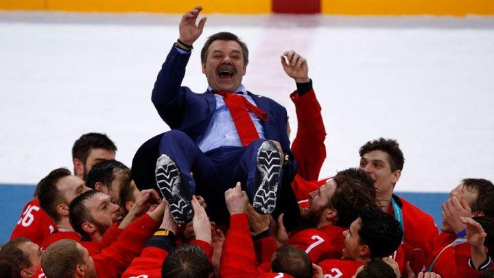 Spory a zmatek v ruském hokeji. Můžeme vůbec uspět? ptají se média před hrami; Zdroj foto: Reuters