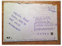 """Pošta """"má koule"""". Doručila dopis bez známky a s adresou v morseovce"""