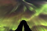 "3. místo v kategorii ""Beauty of Night Sky"": Stephane Vetter z Francie s fotografií ""Iceland Norther Light""."