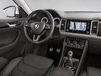 Škoda pustila první čtyři snímky interiéru nového SUV Kodiaq. Podívejte se na kufr nebo přístrojovku