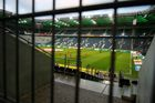 Soccer Football - Bundesliga - Borussia Moenchengladbach v FC Cologne - Borussia-Park, Moenchengladbach, Germany - March 11, 2020  General view during the warm up before