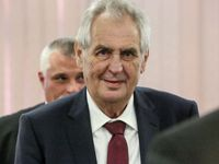 Zeman přijal čínskou vicepremiérku, na setkání byl i Jágr s Nedvědem