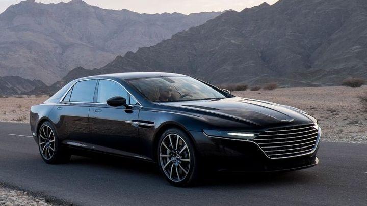 Luxusní sedan Aston Martin dostanou jen desítky vyvolených