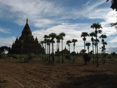Bagan is listed as a World Heritage Site by UNESCO. Its ancient pagodas and prefect sunsets attract a lot of tourists