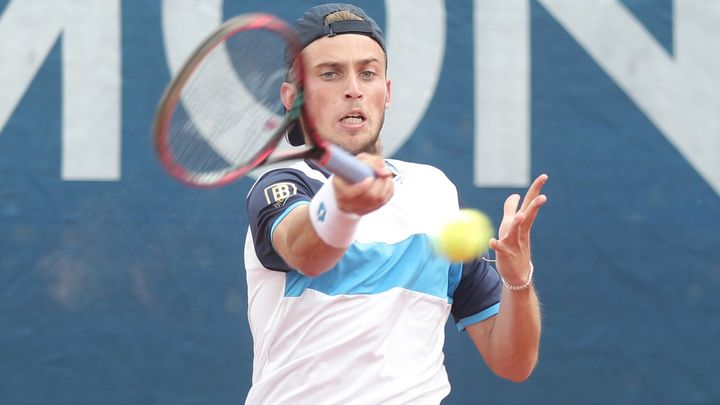 Vrbenský při premiéře na ATP Tour neuspěl, prohrál se třetím nasazeným Fogninim
