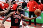 basketbal, NBA 2021, Portland Trail Blazers - Chicago Bulls, Coby White