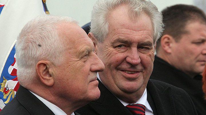 Privatizace uspěla, říká Zeman. Kožený nekradl, dodává Klaus