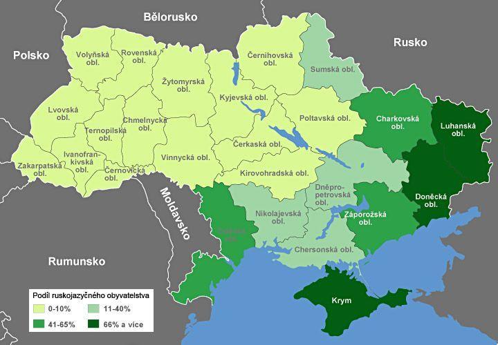 ukrajina mapa Ukrajina   postup separatistů   mapa   Aktuálně.cz ukrajina mapa