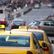 Taxikáři v Praze demonstrovali, nelíbí se jim nová vyhláška