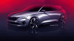 This is how the new gear will look like sports. Škoda has published a new study